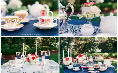Bridesmaids Garden Tea Party {Styled Shoot}