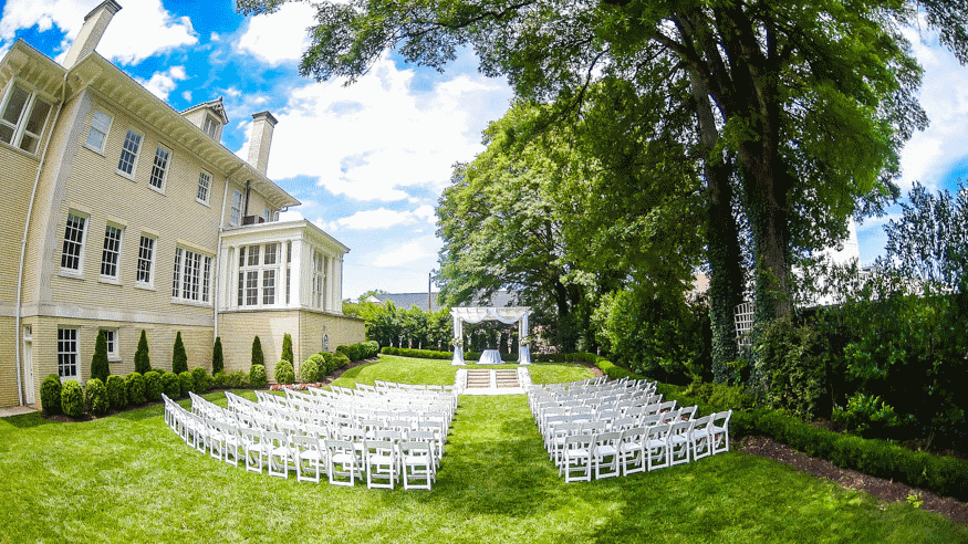 Elegant location for weddings and receptions in Charlotte NC
