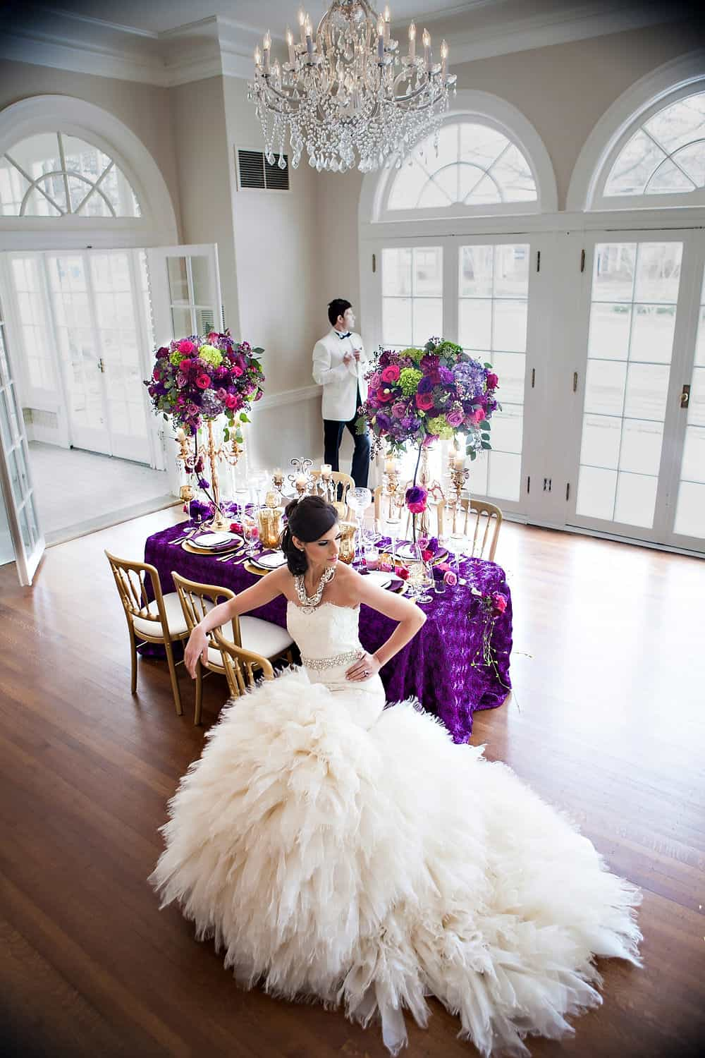 Mardi Gras Wedding Inspiration Separk Mansion