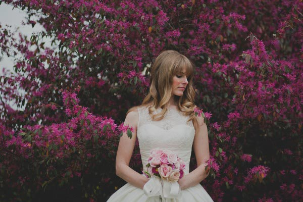 Vintage Pink Bridal Inspiration- {Monica}