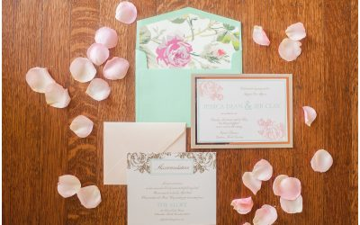 Mint and Rose Gold Wedding {Styled Shoot with Casey Hendrickson}