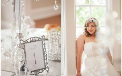 Chic White and Silver Wedding {Styled Shoot with Casey Hendrickson}