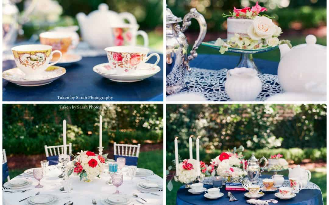 Bridesmaids Garden Tea Party {Styled Shoot}